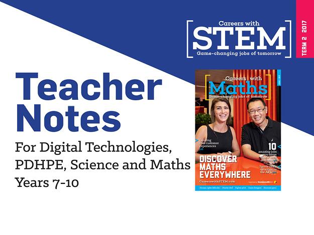 STEM careers teacher notes